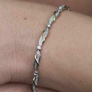Jewelry - NWOT 1.02 CTW DIAMOND BRACELET